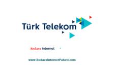 Türk Telekom Bedava İnternet Paketleri Kampanyası