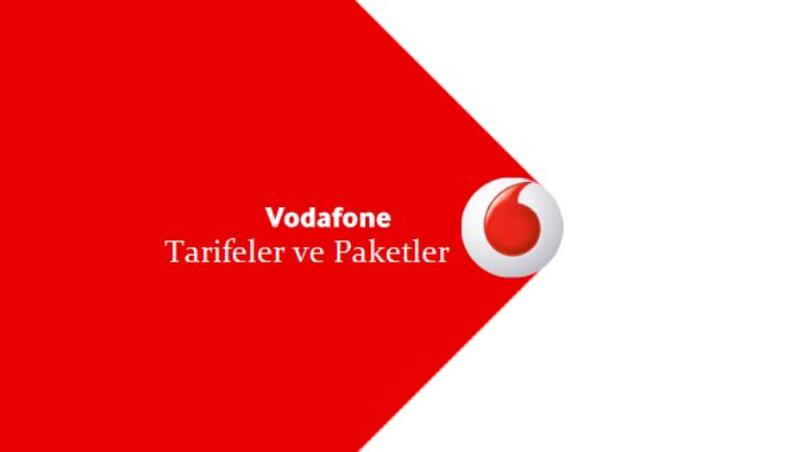 Vodafone Hoşgeldin 40 Paketi