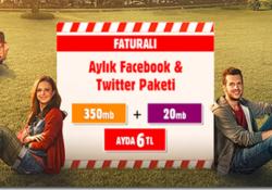 Vodafone Facebook Twitter Paketi