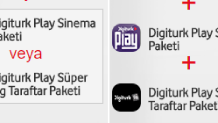 Vodafone Digiturk Play Maç Taraftar Paketi Nasıl Aktif Edilir ?