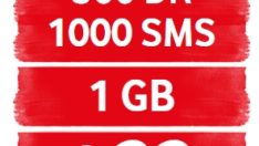 Vodafone Bittikçe Dolan Small 500 dk, 1000 SMS, 1GB Tarifesi