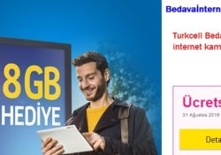 Turkcell Yeni Müşteri Hediye İnternet Kampanyası
