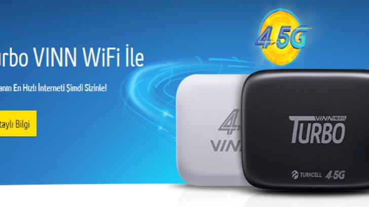 Turkcell Genç VINN WiFi 50 GB Bedava İnternet