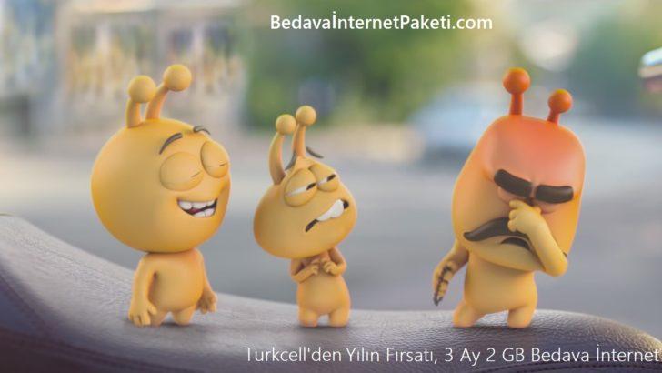 Turkcell Data Fırsat 6 GB Bedava İnternet