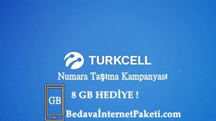 Turkcell Numara Taşıma 4 Ay 2 GB Bedava İnternet Paketi 2017