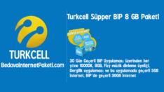 Turkcell Süpper BiP 8 GB internet Kampanyası