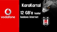Vodafone KaraKartal 12 GB Bedava internet 2017