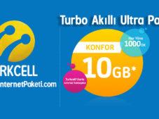 Turkcell Turbo Akıllı Ultra Paketi – 2 GB Bedava internet