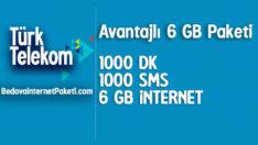Türk Telekom Avantajlı 6 GB internet Paketi