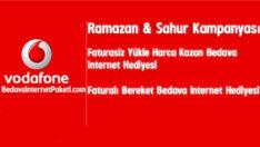 Vodafone Ramazan – Sahur Bedava internet Paketi 2017
