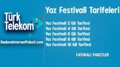 Türk Telekom Yaz Festivali Tarifesi – 10 GB internet Paketi