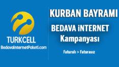 Turkcell Kurban Bayramı Bedava internet Kampanyası