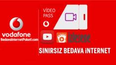 Vodafone Pass Video Sınırsız Youtube – izlesene Bedava internet Paketi