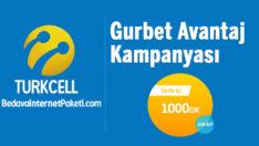 Turkcell Gurbet Avantaj BiP 1 GB Bedava internet