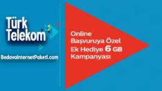 Türk Telekom Avantaj Web'de Tarifeleri 6 GB Bedava internet