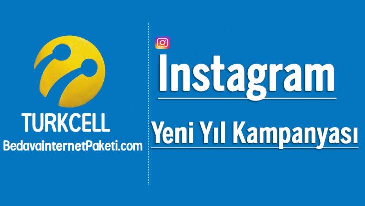 Turkcell Instagram Bedava internet 2018 Yeni Yıl Kampanyası