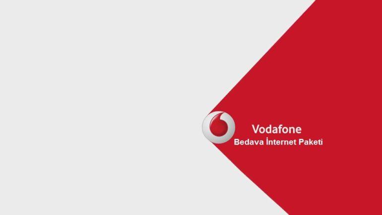 Vodafone E Fatura Bedava 1GB İnternet Paketi