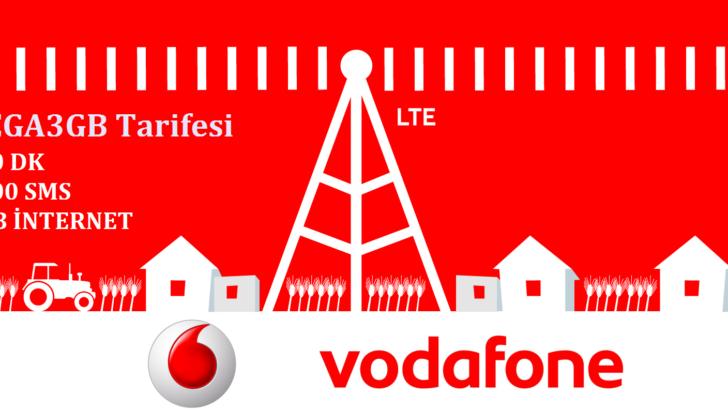 Vodafone Faturasız MEGA 3GB Tarifesi