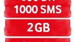 Vodafone MEGA2GB Tarifesi 400DK+1000SMS+2GB 15TL