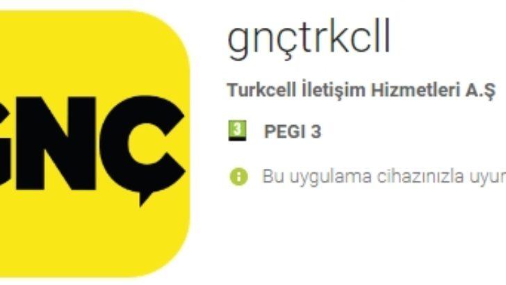 Turkcell GNÇ Uygulaması 1 GB Hediye Kampanyası