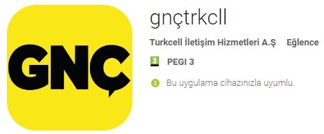 Turkcell Gnc Uygulamasi