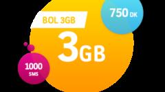 Turkcell Bol 3 GB İnternet Paketi
