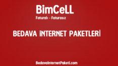 Bimcell Bedava İnternet Paketi Kampanyası