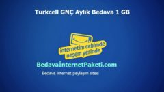 Turkcell 30 TL Yükle 1 GB Bedava İnternet Kazan