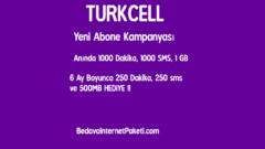Turkcell Yeni Hat Bedava İnternet Kampanyası 2017