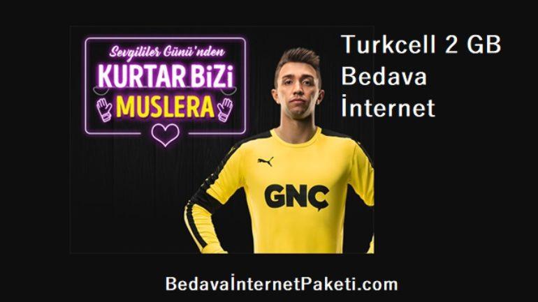 Turkcell Sevgililer Günü Bedava 2 GB İnternet Kampanyası