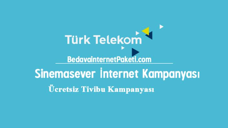 Türk Telekom Sinemasever Tivibu internet Kampanyası