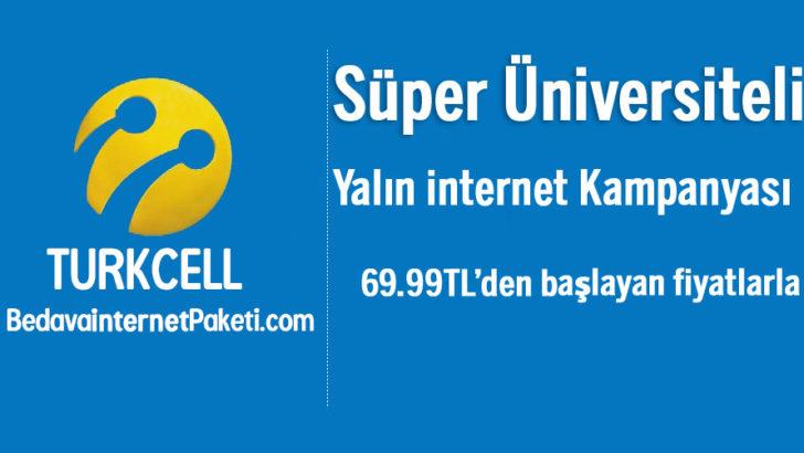 Turkcell Süper Üniversiteli ADSL internet Kampanyası