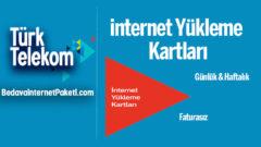 Türk Telekom internet Paketi Yükleme Kartları