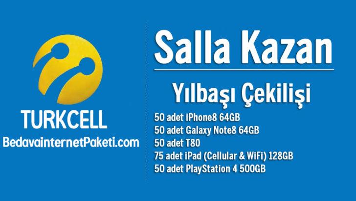 Turkcell 4.5G Salla Kazan Yılbaşı Çekilişi 2018 Kampanyası