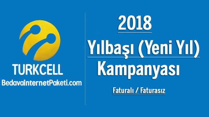 Turkcell Yılbaşı – Yeni Yıl Bedava internet 2018 Kampanyası