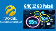 Turkcell GNÇ 12 GB Paketi