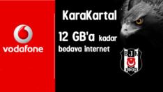 Vodafone KaraKartal 12 GB Bedava internet