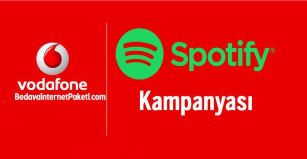 Vodafone Bedava Spotify Premium Üyelik 3 Ay Hediye