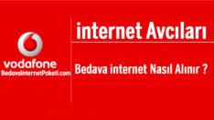 Vodafone internet Avcıları Bedava internet Nasıl Alınır ?
