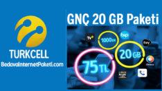 Turkcell GNÇ 20 GB Paketi