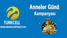 Turkcell SiM Anneler Günü Haftalık 1 GB Bedava internet Kampanyası