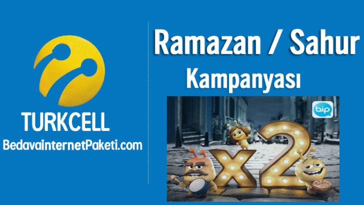 Turkcell Ramazan – Sahur Bedava internet 2018