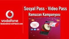 Vodafone Ramazan Pass Bedava internet Paketi Kampanyası