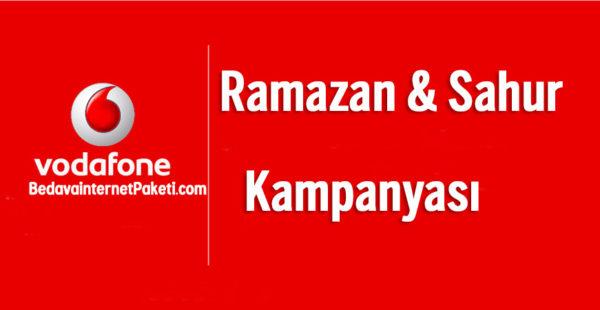 Vodafone Ramazan – Sahur Bedava internet 2018