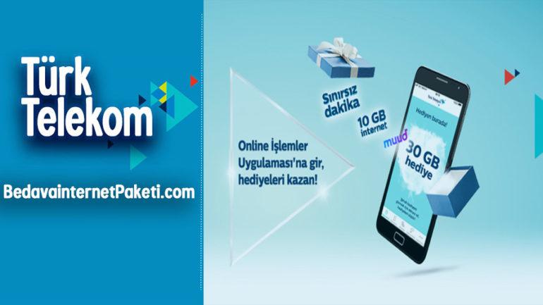Türk Telekom Sil Süpür Bedava internet Kampanyası