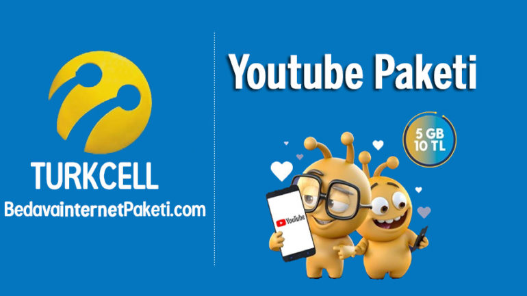 Turkcell Youtube Paketi 5 GB internet