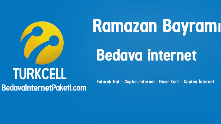 Turkcell Ramazan Bayramı 1 GB Bedava internet