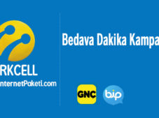 Turkcell Bedava Dakika Paketi Kampanyası