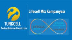 Turkcell Lifecell Mix Paketleri 75 GB internet Kampanyası