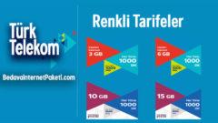 Türk Telekom Faturalı Renkli Tarifeler – Paketler